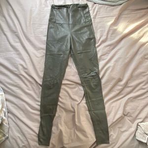 Wilfred Free Daria Pant - Green/Grey size small